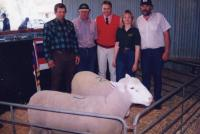 3rd Annual On-Property Ram Sale in 1999