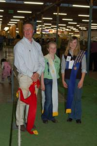 Caitlin Shillabeer won the inaugural young handler competition at the 2011 Royal Adelaide Show.