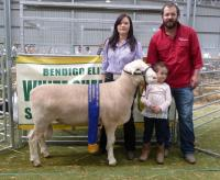 Wingamin 140110 1st May class at Bendigo Elite Show and 1st winning pair at all other shows in 2015