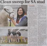 Stock Journal report, Australian Sheep and Wool Show 2016