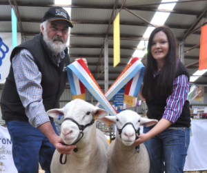 Champion Ram and Ewe and the Interbreed Double!